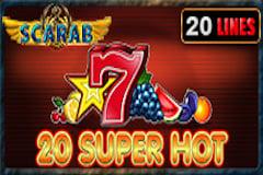 20 Super Hot Scarab Online Slot