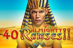 40 Almighty Ramses II Slot Machine