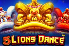 5 Lions Dance Slot Machine