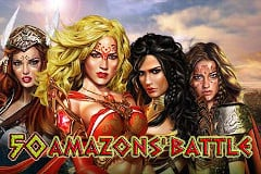 50 Amazons' Battle Slot Machine