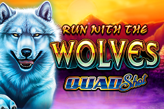 Run with the Wolves Quad Shot Slot