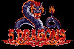 Aristocrat 5 Dragons Online Pokie