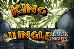 King of the Jungle Golden Nights Bonus Slot