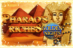 Pharao's Riches Golden Nights Bonus Slot