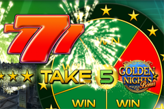 Take 5 Golden Nights Bonus Slot