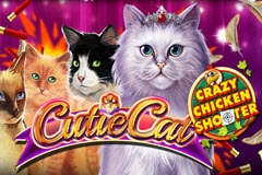 Cutie Cat Crazy Chicken Shooter Slot Game