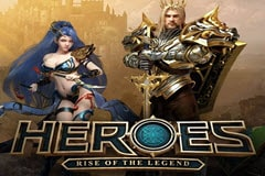 Heroes Rise of the Legend Slot