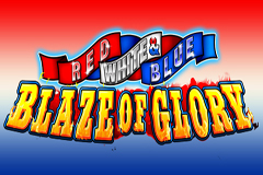 Red White and Blue Blaze of Glory