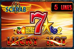 Lucky Hot Scarab Slot Machine