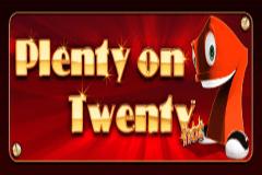 Plenty on Twenty slots