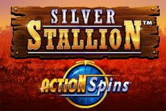 Silver Stallion Action Spins Slot
