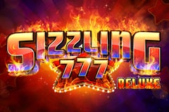 Sizzling 777 Deluxe Slot