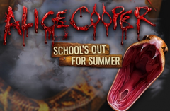 Alice Cooper School's Out for Summer Slot