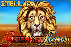 Stellar Jackpots with Serengeti Lions Slot