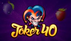 Joker 40 Slot