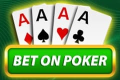 Bet on Poker Table Game