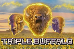 Triple Buffalo Slot Machine