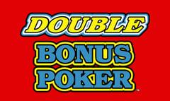 Double Bonus Video Poker game free