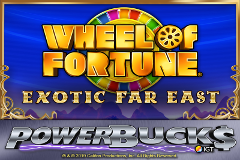 PowerBucks Wheel of Fortune Exotic Far East Online Slot