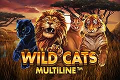Wild Cats Multiline Slot Machine